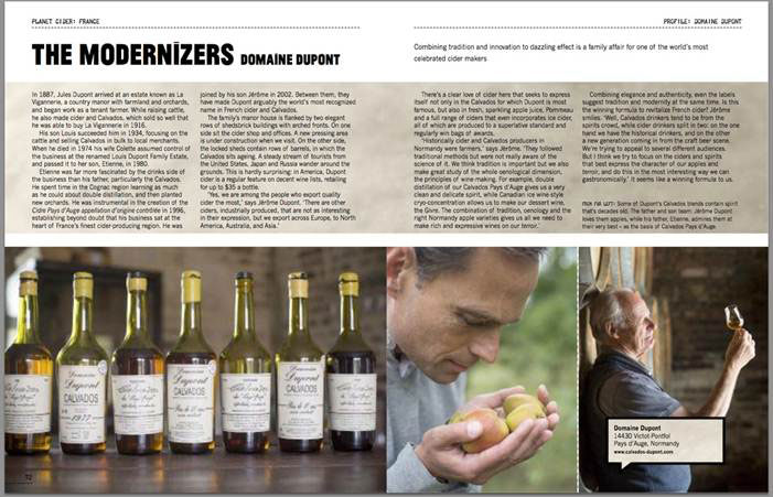 World's Best Cider - Domaine Dupont
