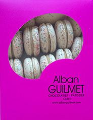 Macarons Alban Guilmet à la Crème de Calvados Dupont