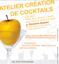Atelier Cocktail au calvados