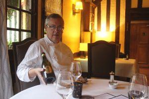 Le chef étoilé Jérôme Bansard présente la Cuvée Colette du Domaine Dupont
