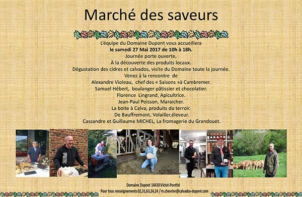 Marché des Saveurs 2017