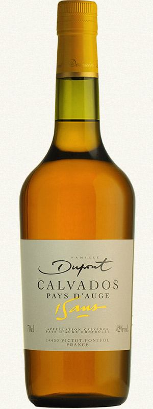 Bouteille Domaine Dupont Calvados 15 ans