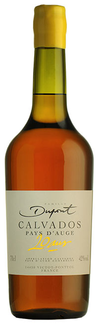 Bouteille Domaine Dupont Calvados 20 ans