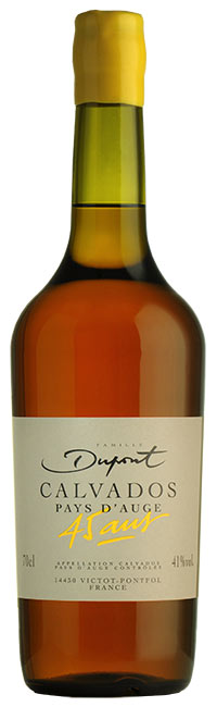 Bouteille Domaine Dupont Calvados 45 ans