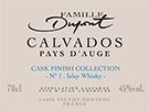 Etiquette Calvados Cask Finish Islay Whisky